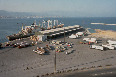 Reefer Terminal in the 80's